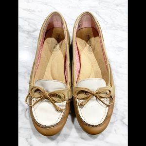 Sperry Bow Loafers Colorblock 7.5